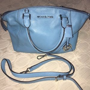Baby blue Michael Kors handbag